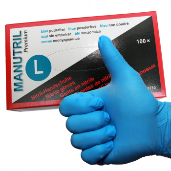 Premium nitrile painting gloves